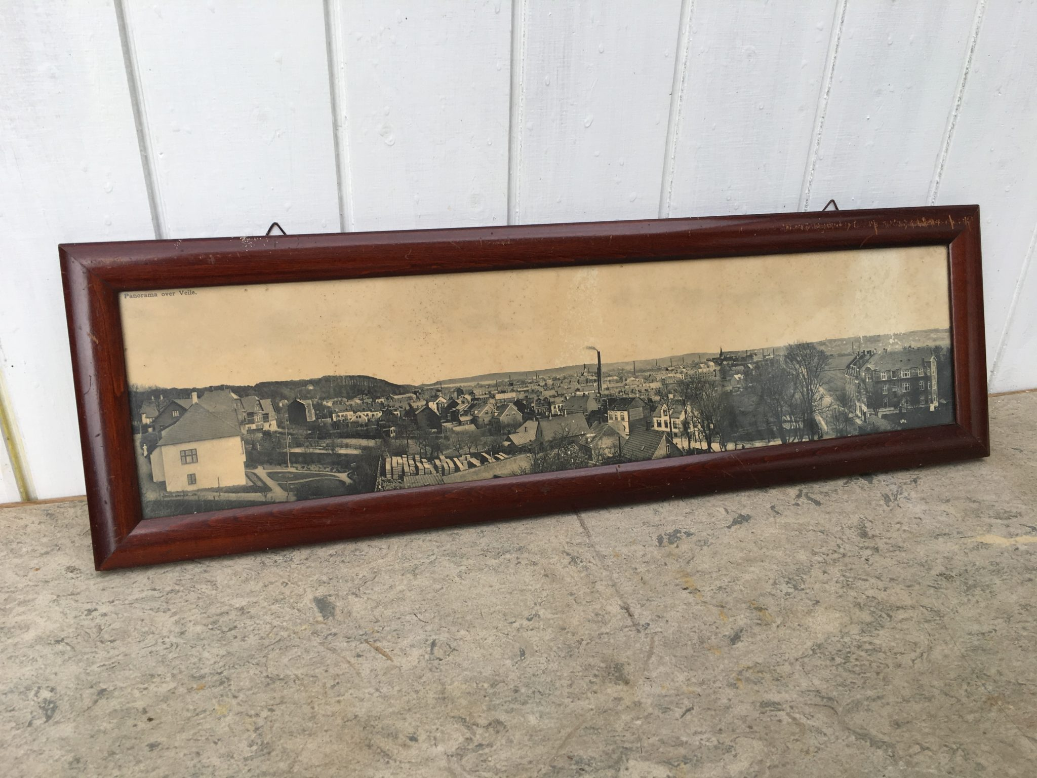 Vejle By, gammelt panoramafoto, pris 150 kr