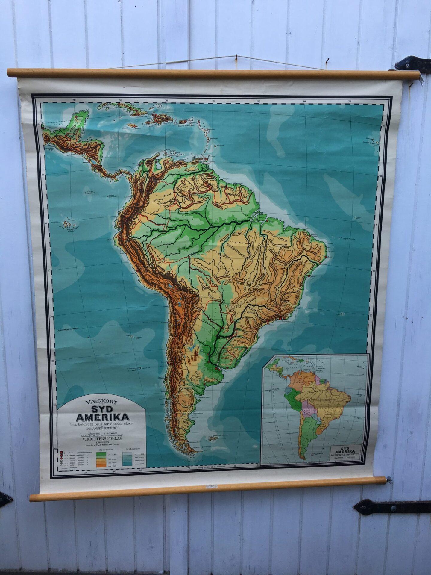 Sydamerika 500 kr