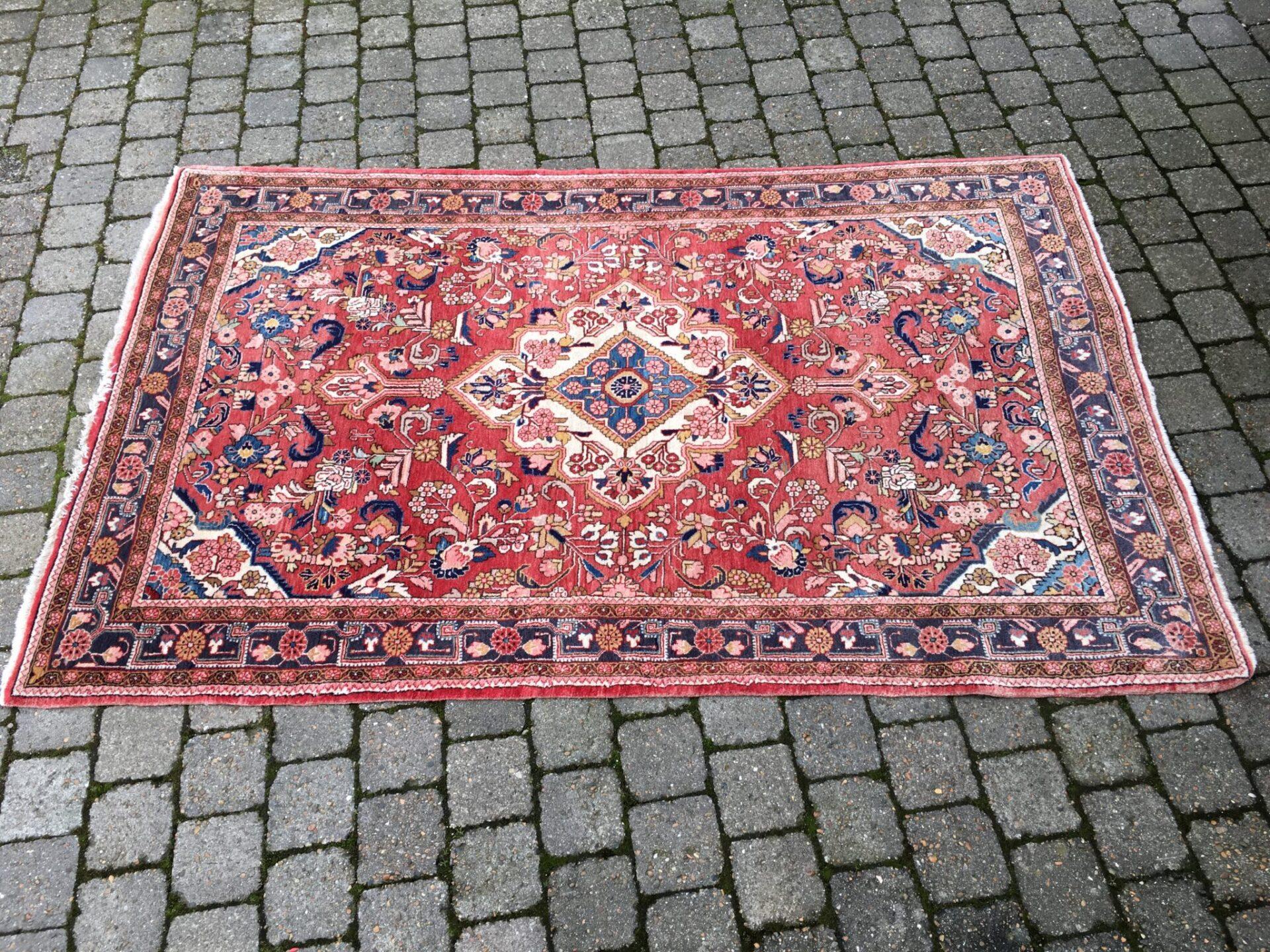 Ægte tæppe (Iran) 2,00x1,27 m, pris 1000kr