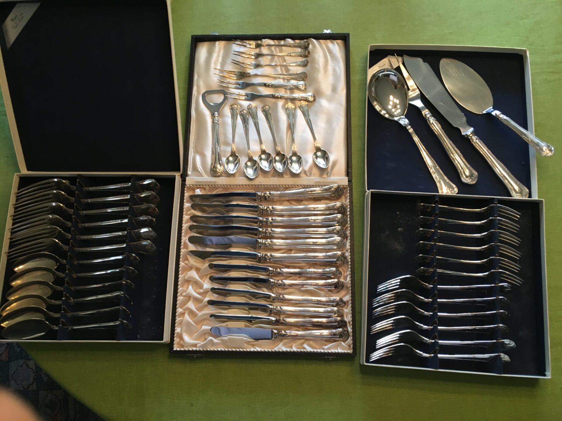 Cohr sølvbestik,