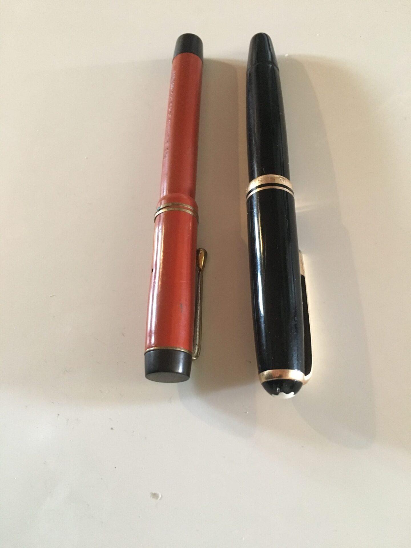 Vintage fyldepenne,