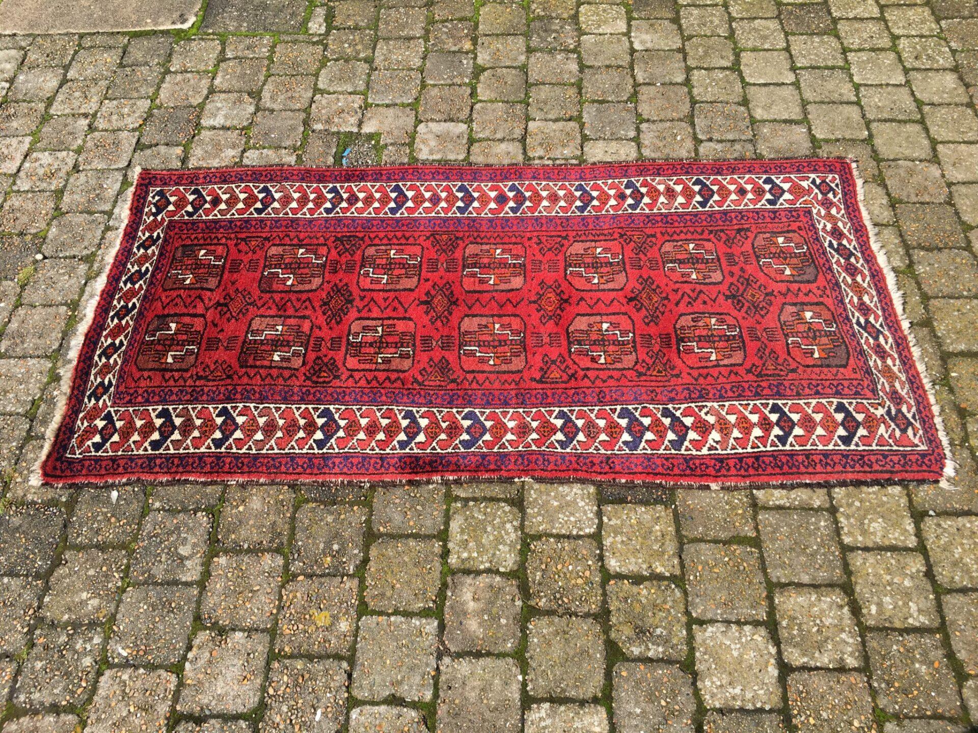 lille løber, Ægte tæppe, 170x80 cm, pris 250 kr