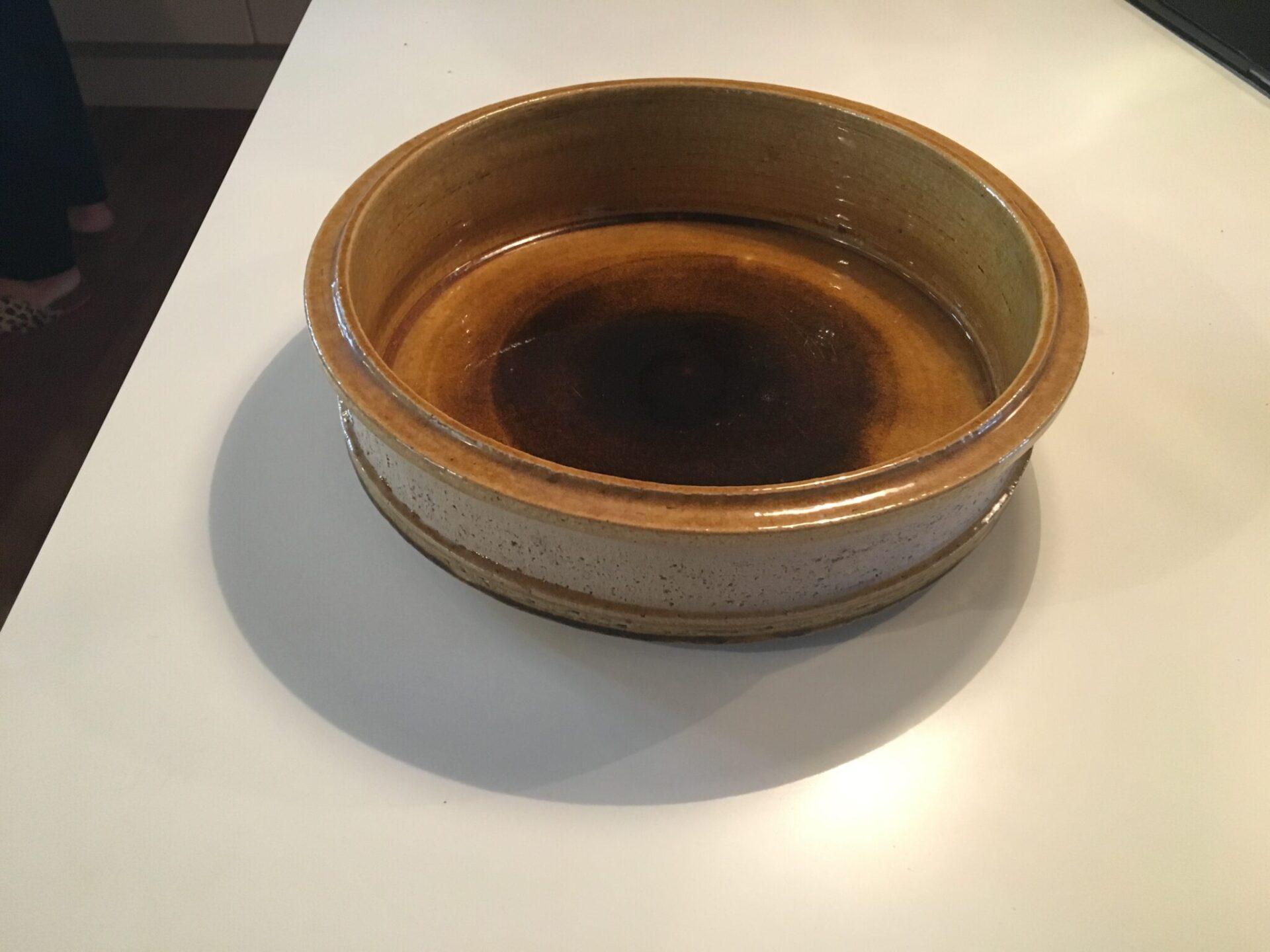 Kähler skål, d=29 cm, h=9,5 cm, pris 400 kr