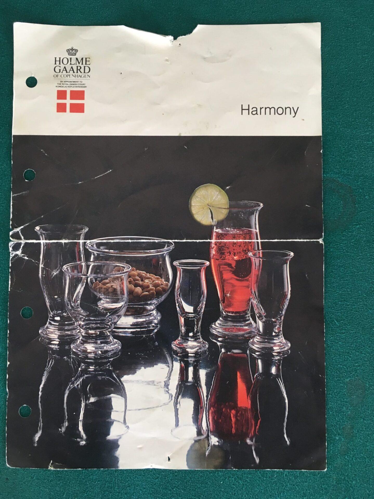 Holmegaard, Harmony