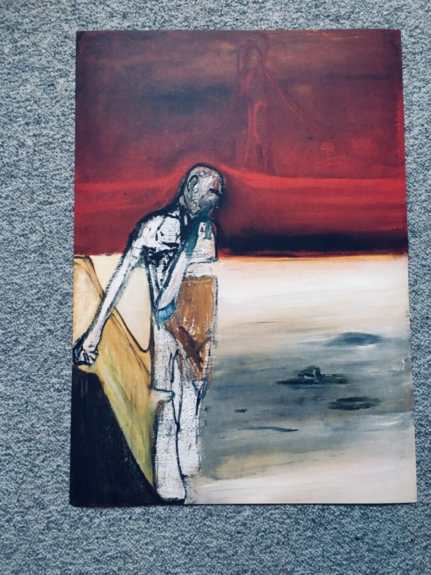 Peter Brandes, Kunsttryk på karton, pris 300 kr