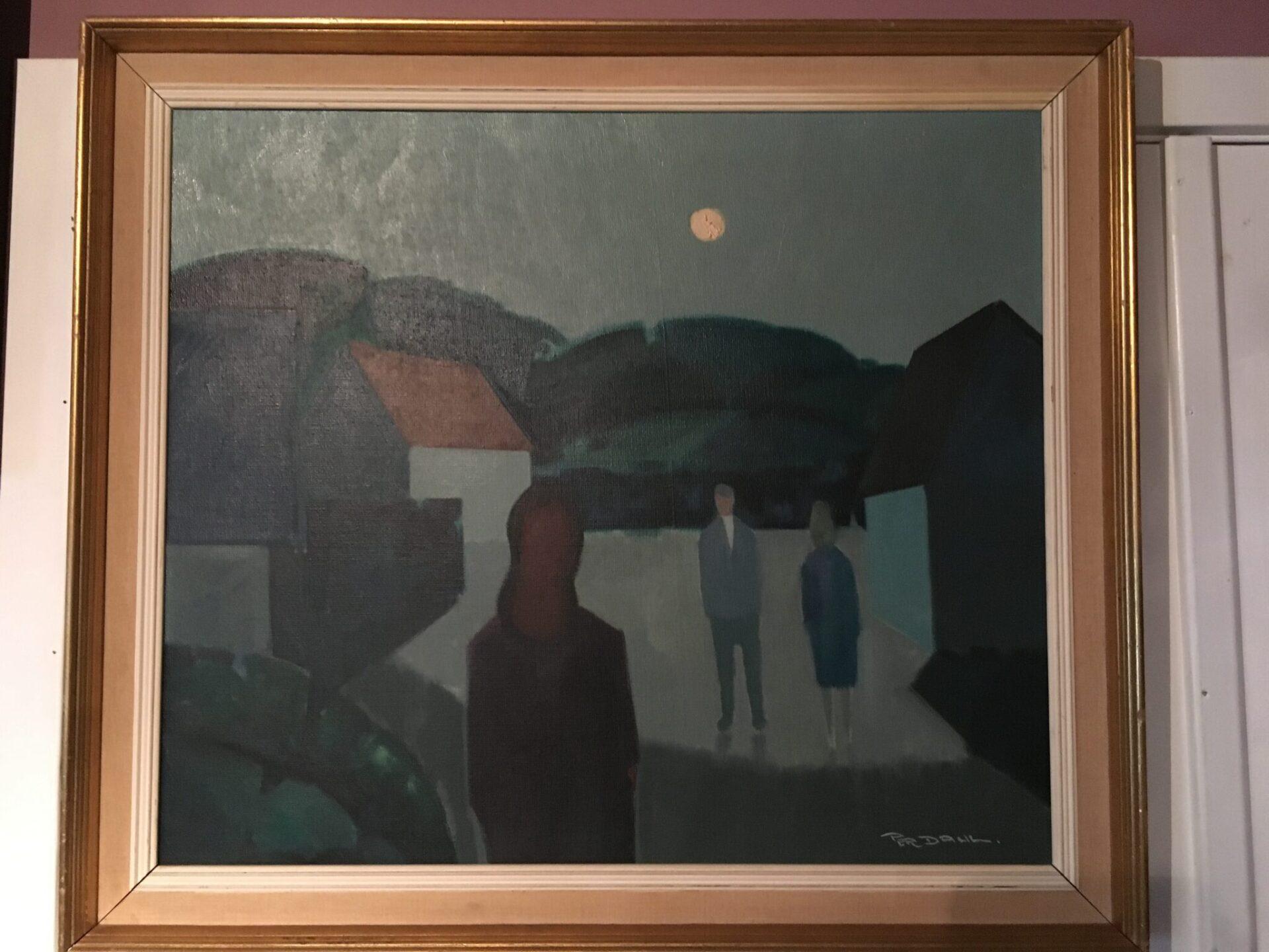 Per Dahl maleri, 400 kr