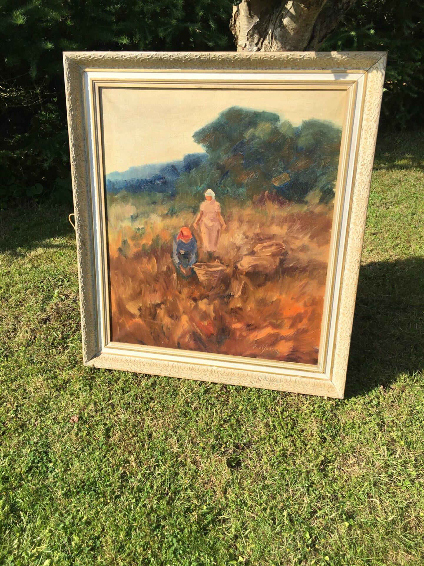 Bernhard Rolfsted, maleri,