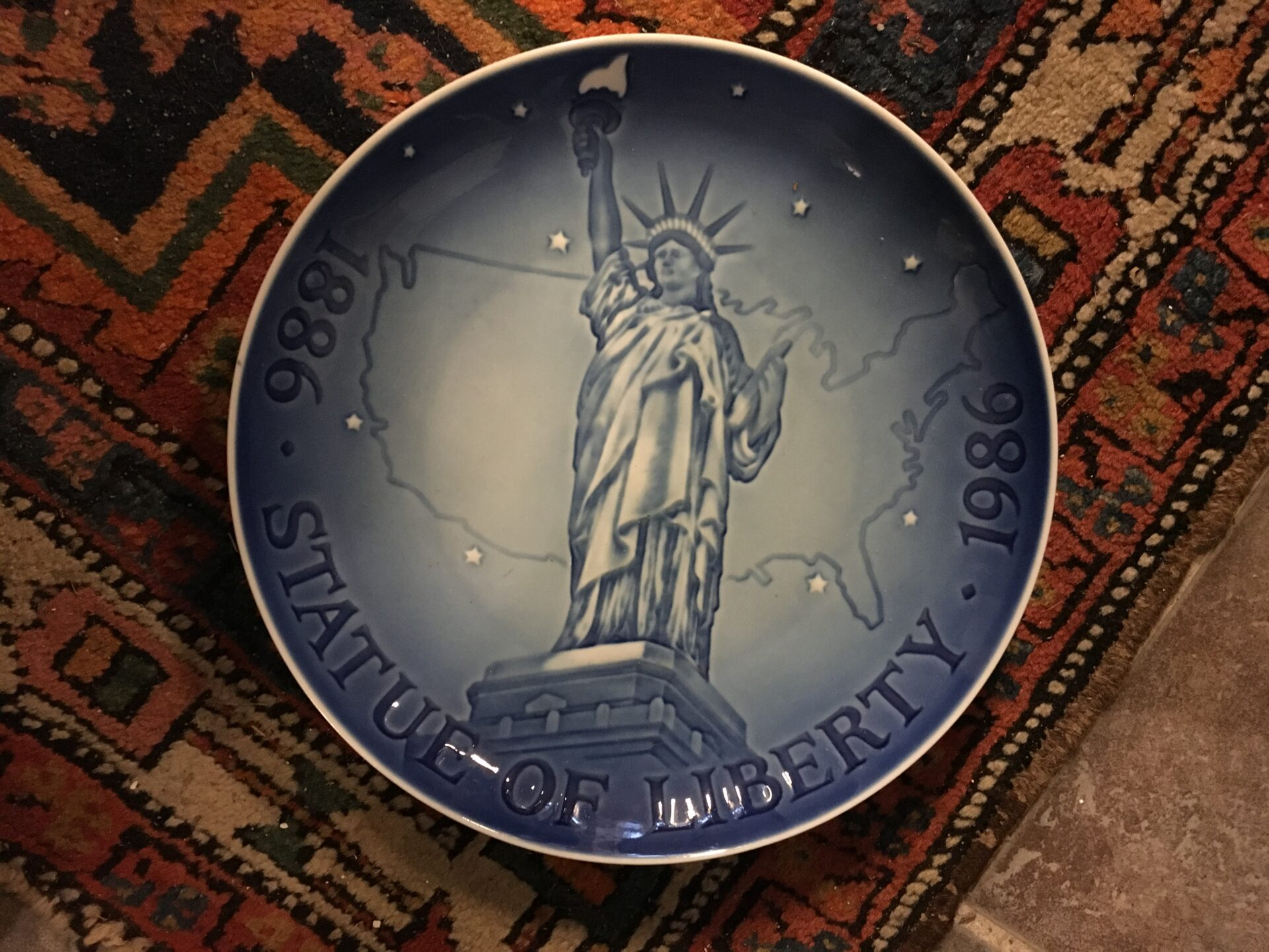 B&G Statue of Liberty 1886-1986, pris 150 kr