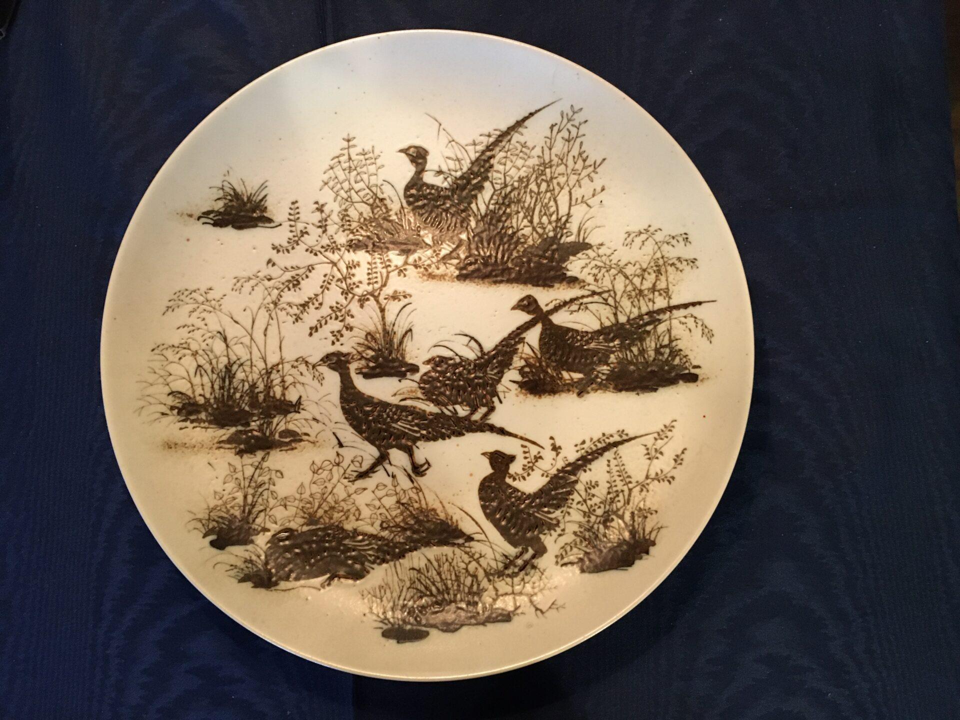 Royal Copenhagen, keramik, Nils Thorsson, d=37 cm, pris 500 kr