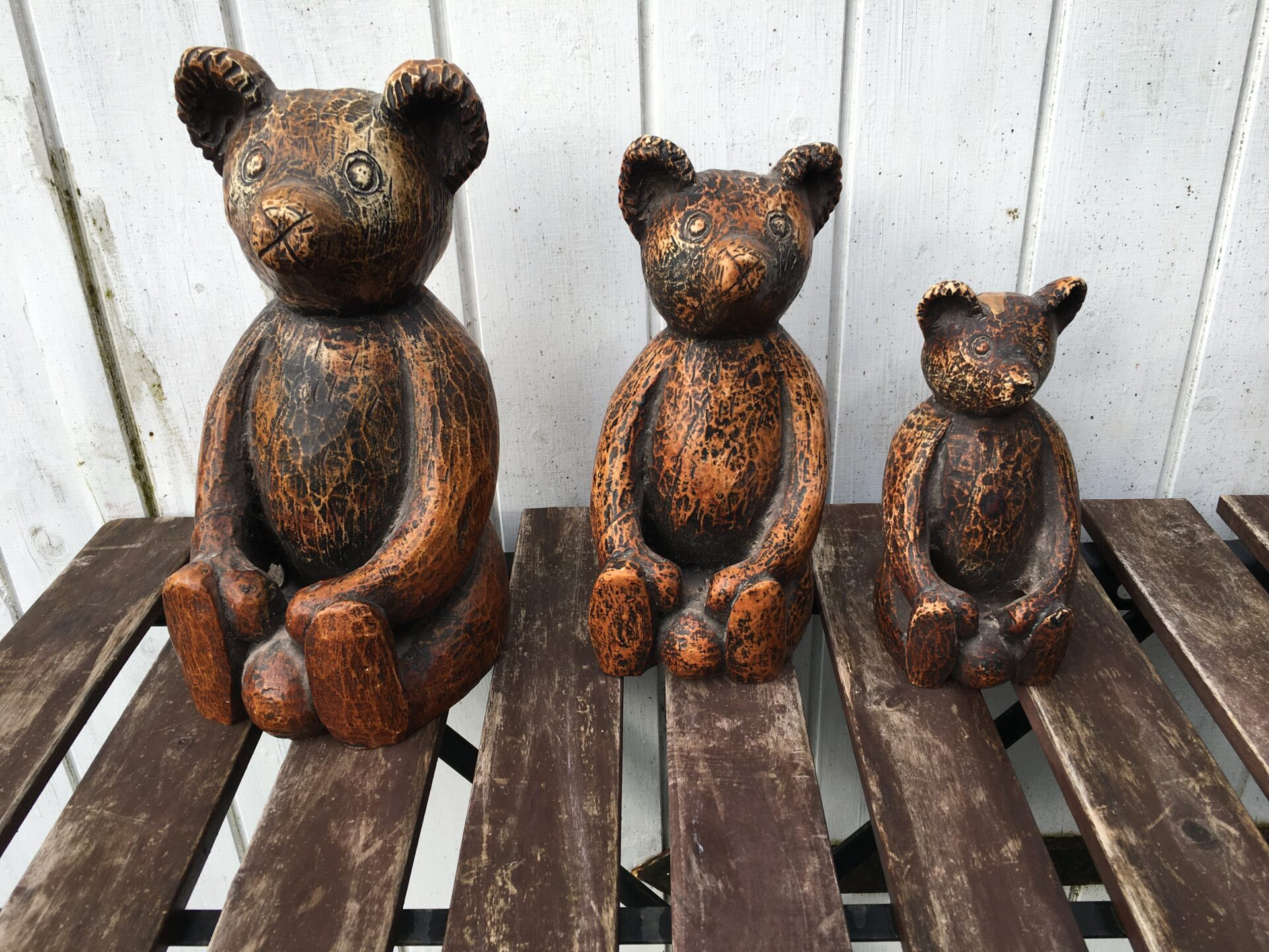 3 stk Stickland Bear, h= 28/22/17 cm, samlet pris 500kr