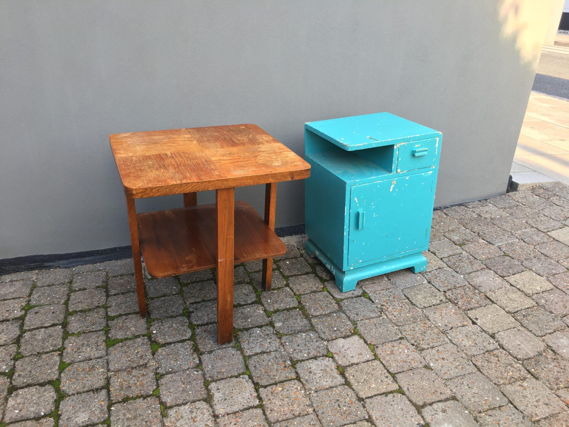 Art deco møbler pr. stk 300kr