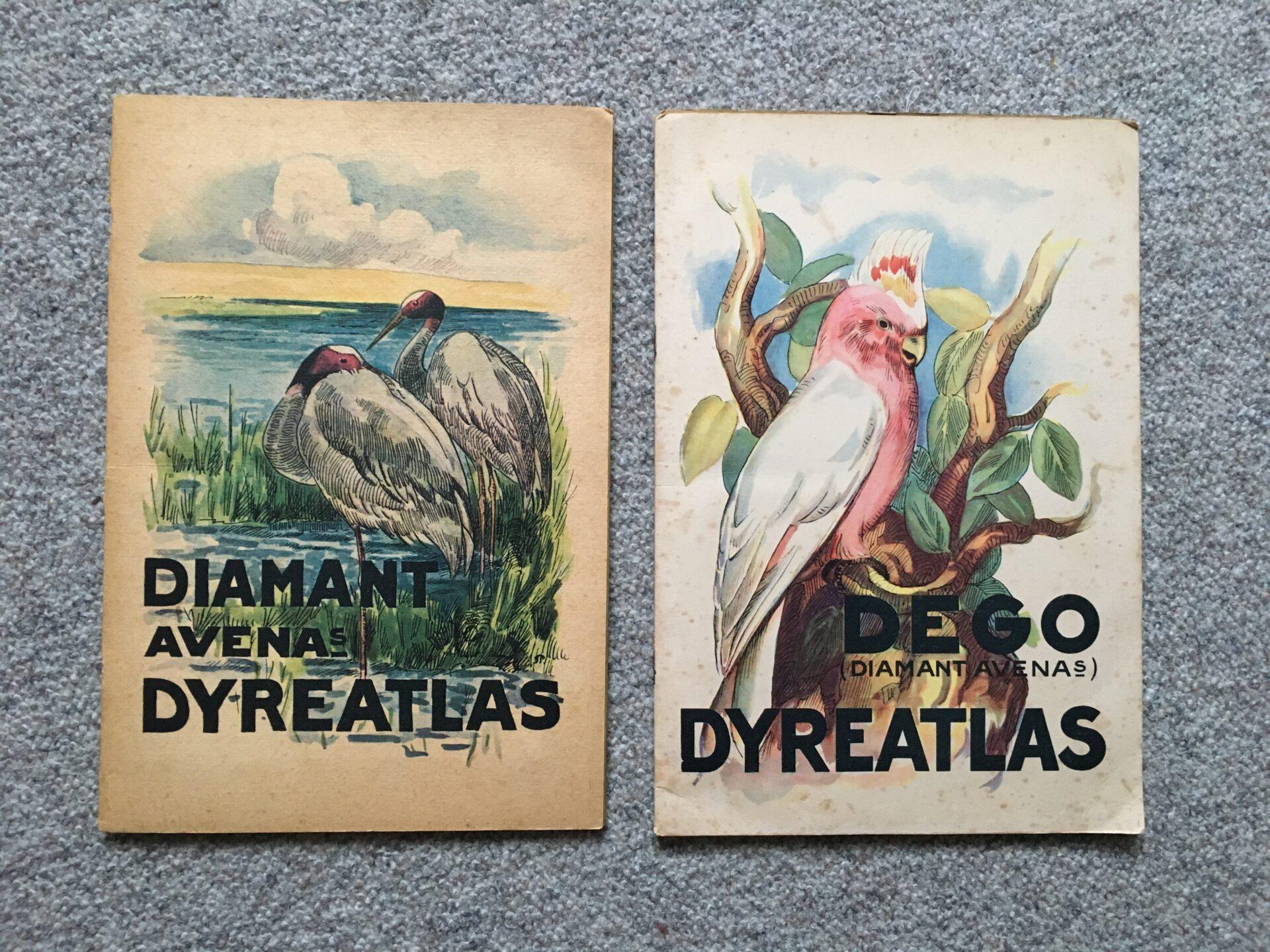 DEGO Dyreatlas, med komplet samling af DEGO-gryns dyreserie, pris pr hæfte 200kr