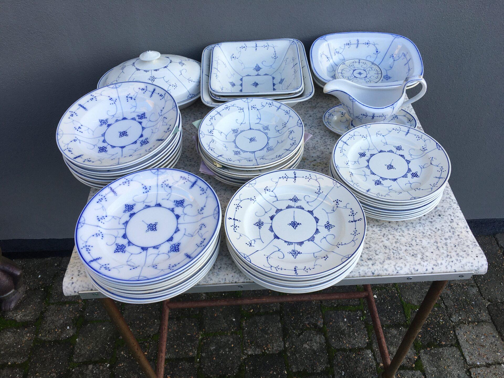 Willeroy & Boch, Dredsen, tallerkner, alle størrelser pr. stk 50 kr