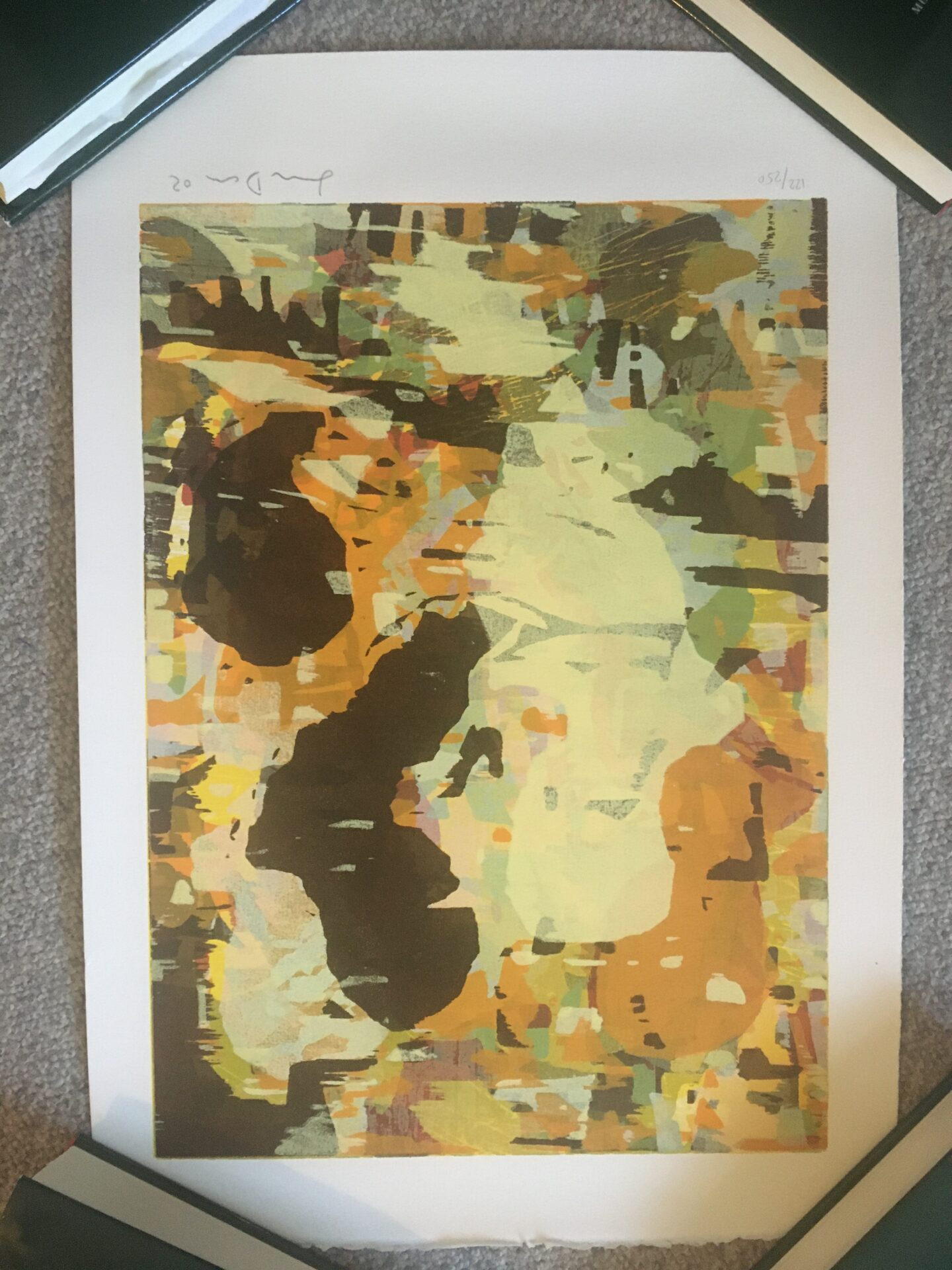 Lars Dan, litografi nr. 122/250, signeret i 02, (rullet) 56x39 cm, pris 300kr