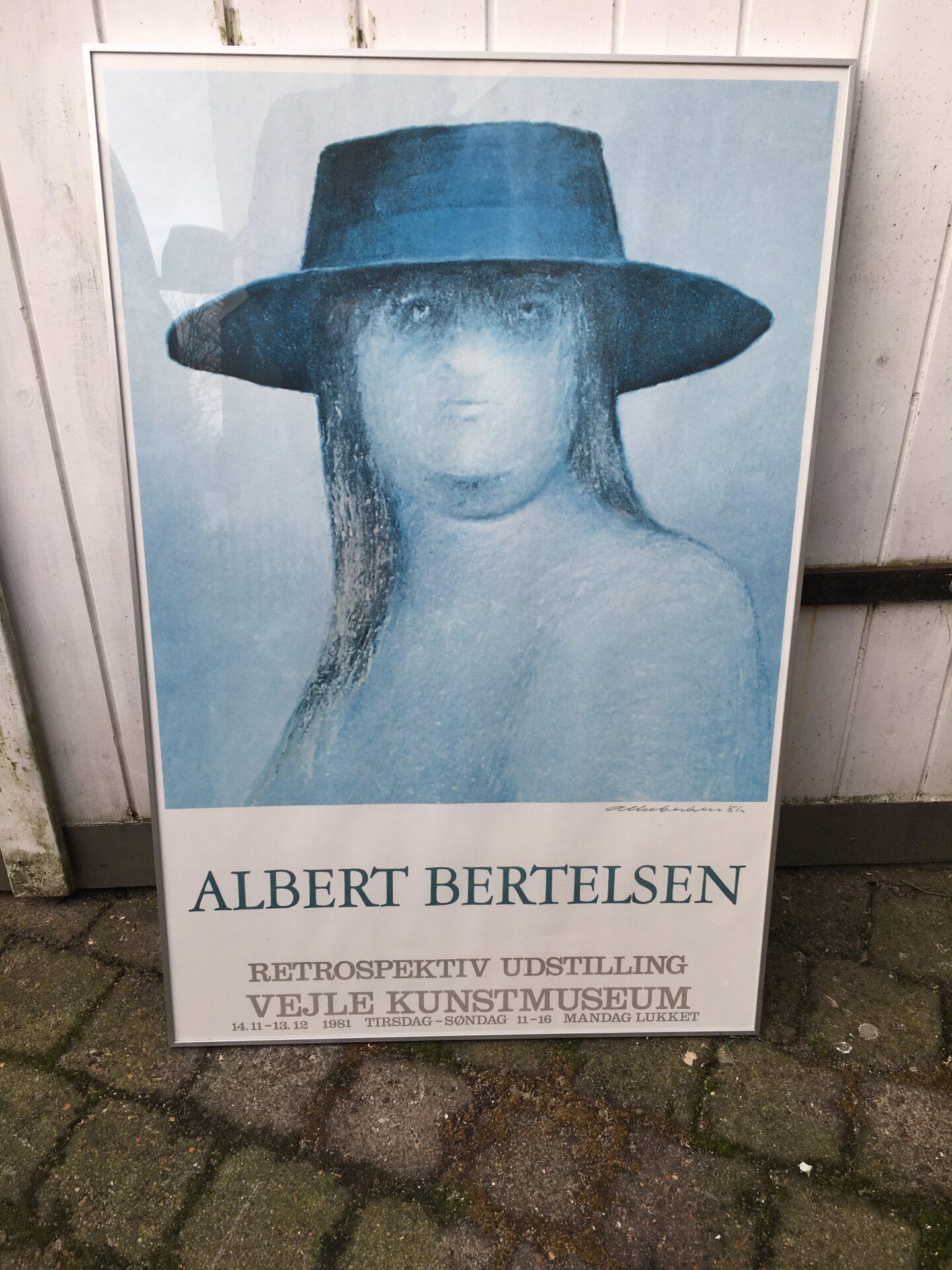 Albert Bertelsen, grafisk tryk,
