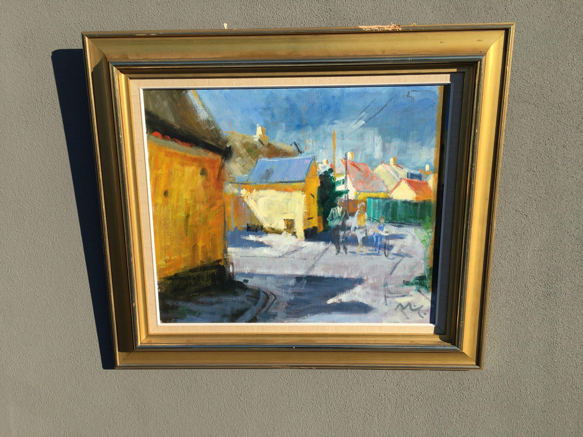 Mogens Thorsen, maleri,