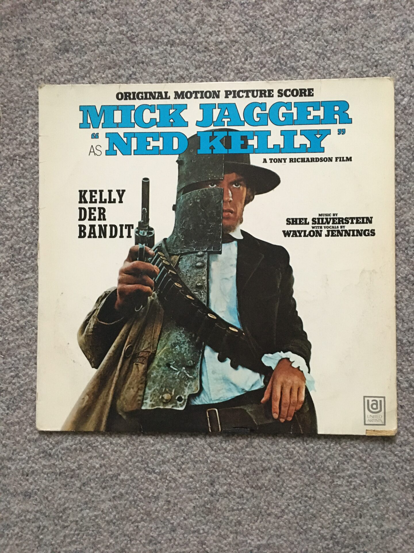 Mick Jagger, LP, velholdt, pris 100kr  (ca 300 stk LP på lager)