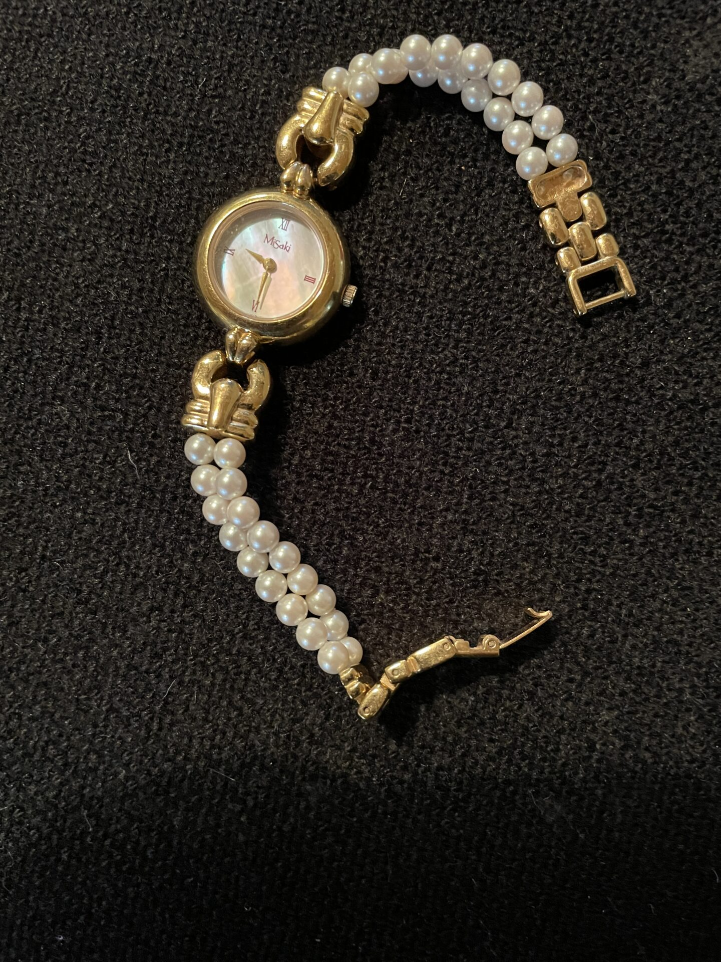 Mi Saki damearmbåndsur, pris 500kr